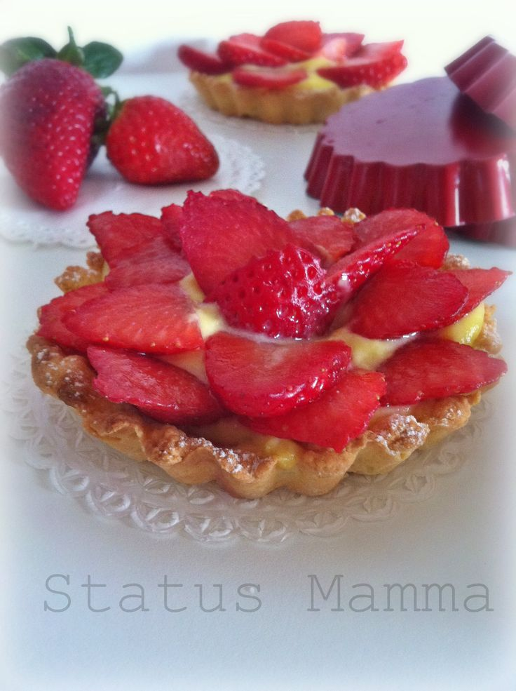 Crostatine di fragole