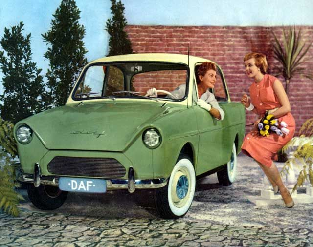 DAF - former Dutch car brand #daf #classiccar #netherlands