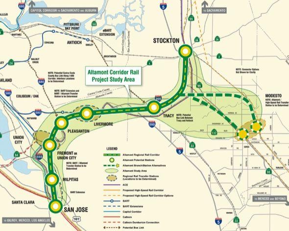 California High Speed Rail Blog » Altamont Corridor Planning Begins