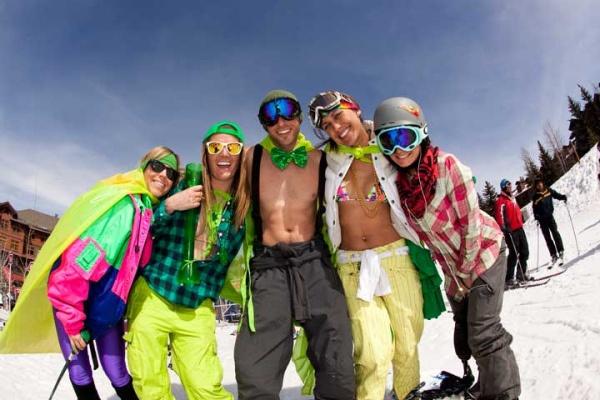 Ahhhmazing Aspen Apres Ski Dinner Party / a lot of fun in