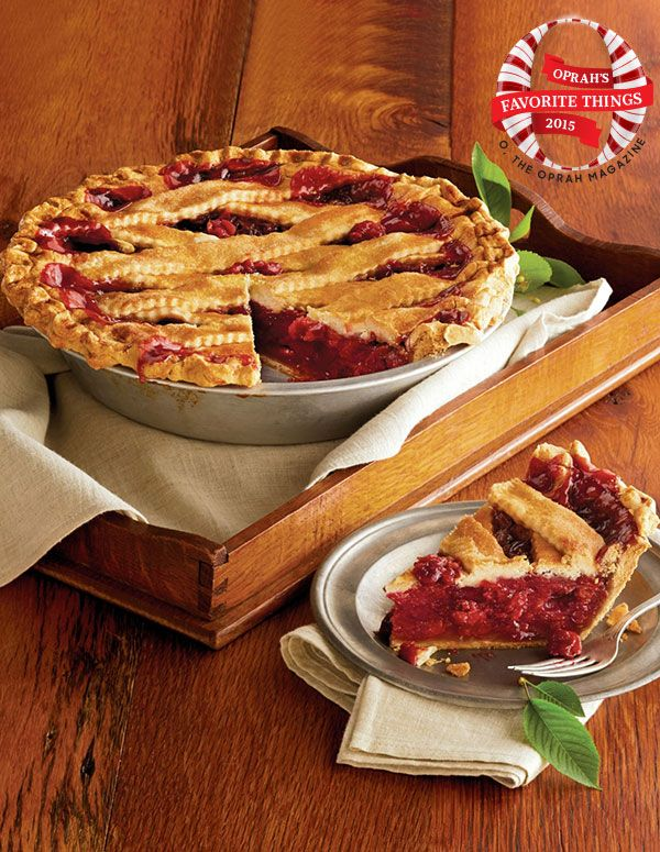 This Sweet Lady Jane Pie is on someone's special Favorite Things List this year. We just love this Deep Dish Cherry Pie too!