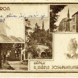 Sopron, képek a Mária Josephinumból