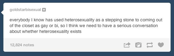 "There are ""stepping stones"" to homosexuality. 