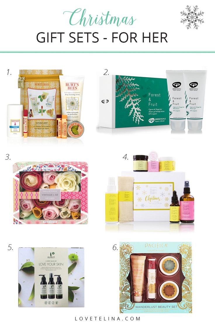 Christmas Gift Guide 2017 // Natural Beauty Gift Sets // It's that time of the year again! Today, I'm sharing the first of my annual Christmas gift guide series and this one is all about natural beauty gift sets. I have some lovely natural brands to share with you including Green People, Sukin and Burt's Bees. If you have a beauty lover to buy for, then this guide is for you!