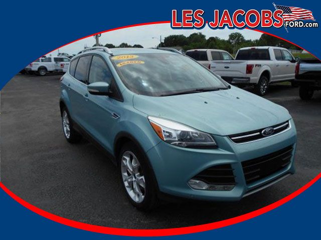 6776 – 2013 #Ford #Escape Titanium FWD – Frosted Glass Metallic with Charcoal Black, EcoBoost I-4 2.0L, Auto, Navigation, Ford SYNC System w/Bluetooth Connectivity and Hands Free Phone, Keyless, Local Trade! #Used #Cars #Cassville, #MO