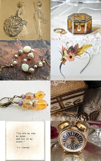 Gold love of autumn  by Elena Doniy on Etsy--Pinned with TreasuryPin.com #autumn…