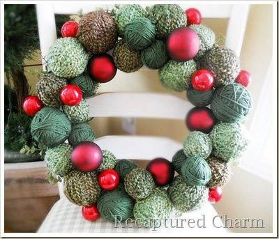 17 best cheap christmas wreaths images on Pinterest | Outside ...