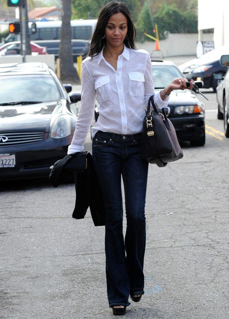 69 best White Shirt: Wardrobe Must images on Pinterest   White ...