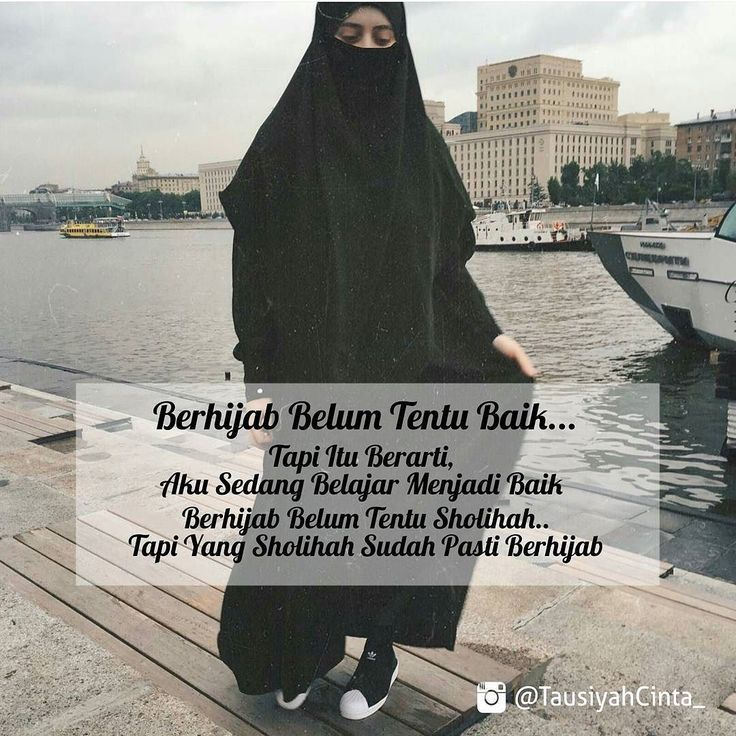 Hijab Adalah Kewajiban..! Sdh Baik Ataupun Masih Proses Memperbaiki diri Hijab Tetaplah Wajib..! Selama Ia Mengaku Muslimah Hijab Adalah Identitas..! .  Muslim Beriman Itu Mendengar dan Patuh Akan Perintah Allah..! .  Jika Masih Banyak Alasan Untuk Menjalankan Perintah Allah apakah Pantas di Sebut Beriman...? .  #RenunganBersama .  Follow and Support @indonesiamenutupaurat @indonesiamenutupaurat  .  Like dan tag 5 Sahabatmu Sebagai Bentuk Dakwah Kita Hari ini..! .  Majelis @TausiyahCinta_ []…
