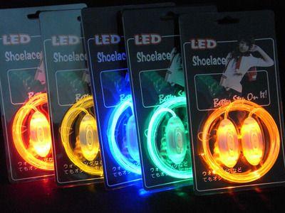 1 Pair Light Led tali Sepatu Tali Sepatu Luminous Glowing Tongkat Cahaya Berkedip Berwarna Neon Tali Sepatu chaussures 2017 led tali sepatu