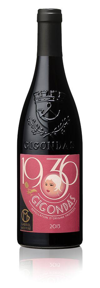 Bouteille 1936 Gigondas 2013