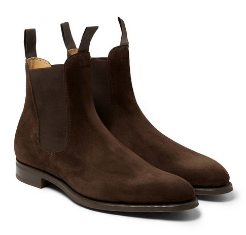 Edward Green, Chelsea Boots Mr. Porter http://www.tpgstyle.com/2015/01/the-edit-picks-of-month-january.html
