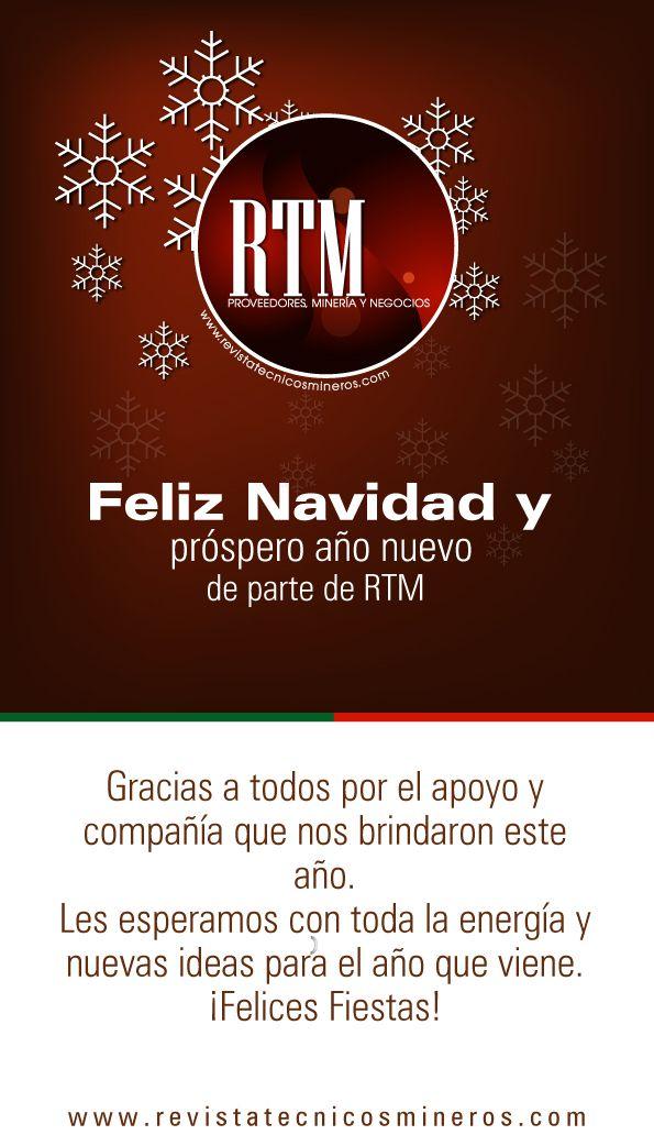 Para los que están trabajando y para los que no... RTM les desea una Feliz Navidad....
