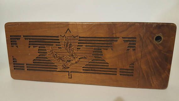 Check out this item in my Etsy shop https://www.etsy.com/ca/listing/578954913/vintage-wooden-pencil-case-canadian-made