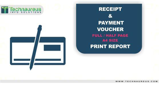 Receipt \/ Payment Voucher Half \ Full Page Print In Odoo #Get App - payment receipt