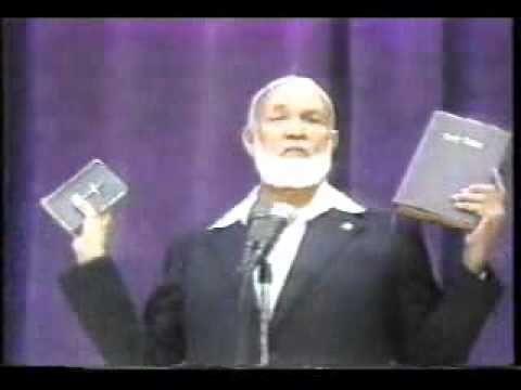Muhammed in the bible - Ahmed Deedat 1 of 11 - YouTube