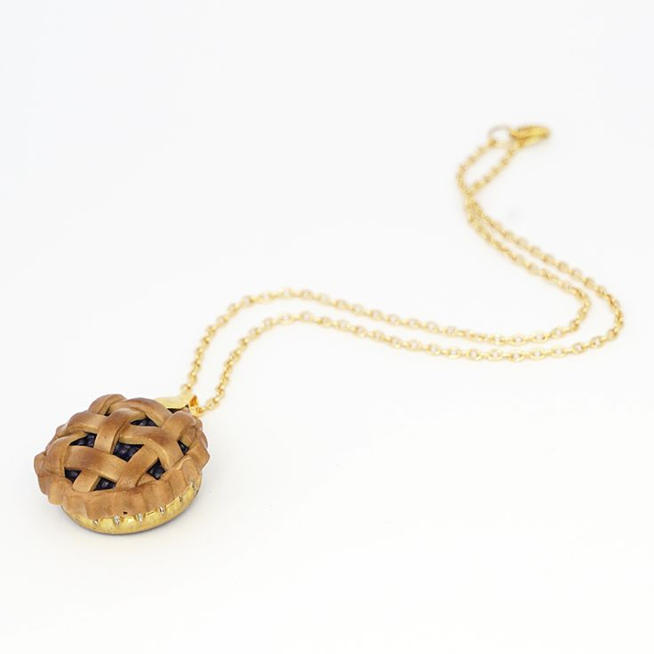 Blueberry Tart Necklace