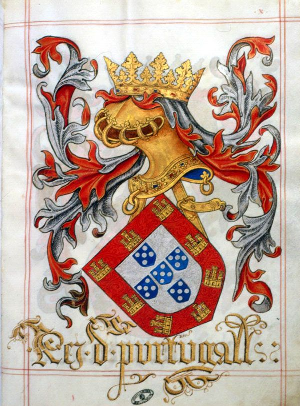 Livro do Armeiro-Mor - Rei de Portugal
