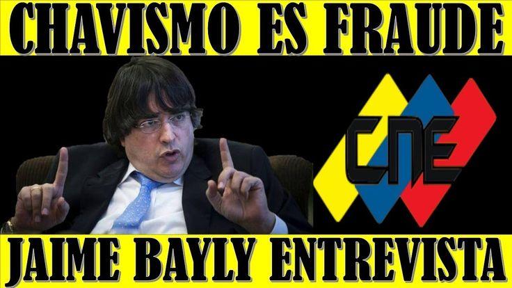 ultima hora VENEZUELA 26 ENERO 2018  JAIME BAYLY Declara que el CHAVISMO es FRAUDE