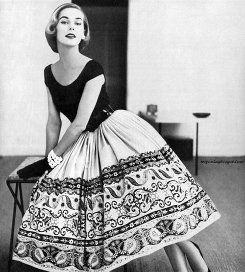 A 1952 Nelly De Grab dress. Photo by Tom Polumbo.: 1950S, Style, Vintage Fashion, Dresses, 1950 S, Photo