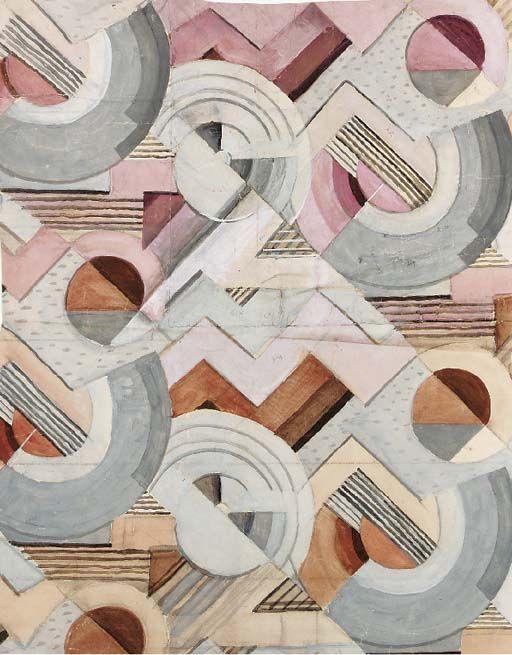 Deco patterns via Christie's