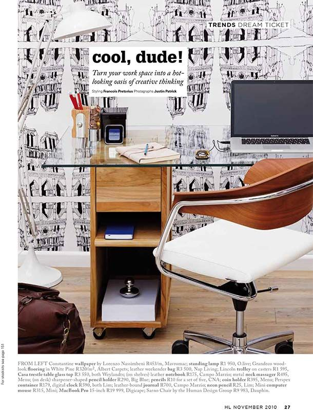 Mally Bags House & Leisure Magazine
