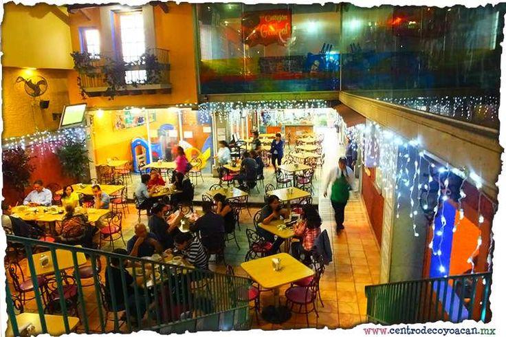 Restaurante Churros el Dorado. Sucursal Churubusco