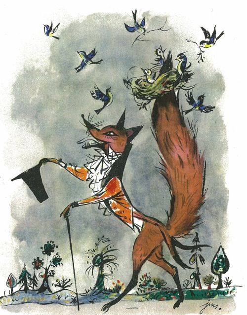 A dapper fox from Szelmostwa Lisa Witalisa