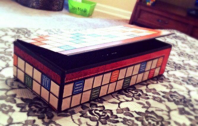 Scrabble boxScrabble Box