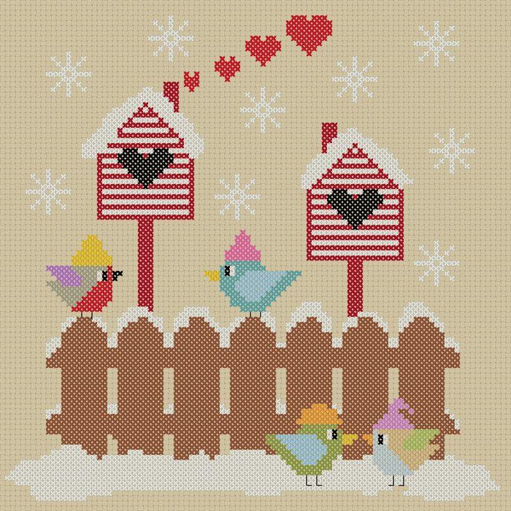 Stickeule: Adventskalender 2014