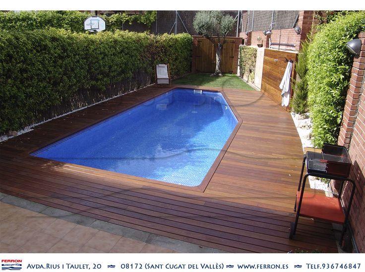 17 best images about ferr n piscinas on pinterest - Piscina de madera ...