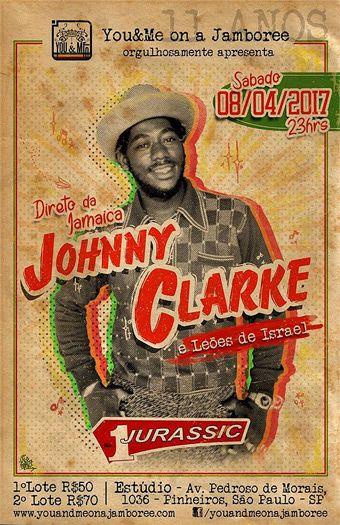 SURFOREGGAE | Johnny Clarke no Brasil! O lendário cantor jamaicano faz única apresentação em São Paulo!