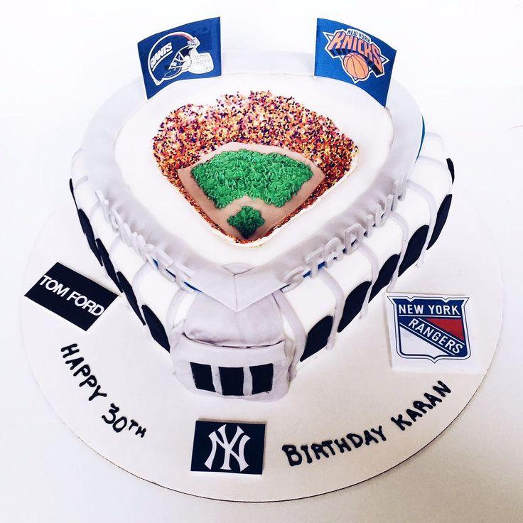 Yankee Stadium Cake!