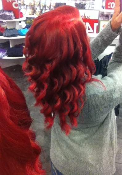 17 Best Images About Loreal Hilights Red Magenta On