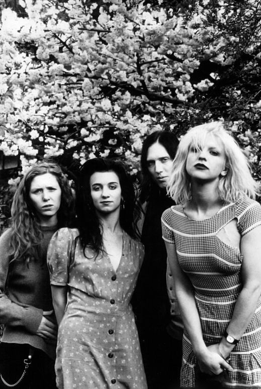 Hole 1993, Courtney Love wasn't the only one with style in that group #SALSITinspo #90s