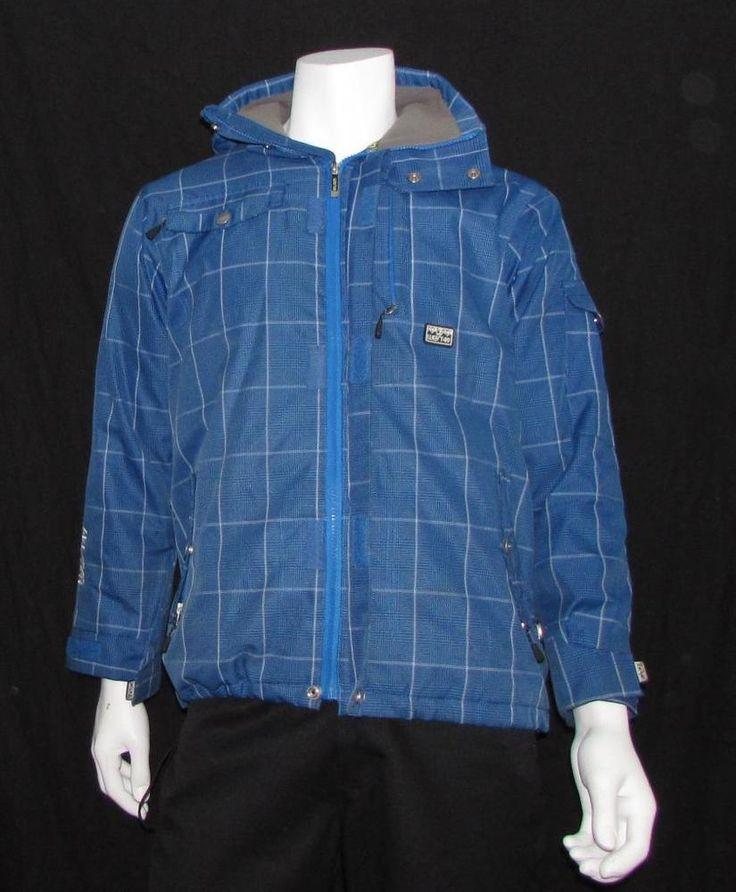 Teenager West49 Hooded Snowboarding Ski Jacket Waterproof Full Zip sz Large #West49