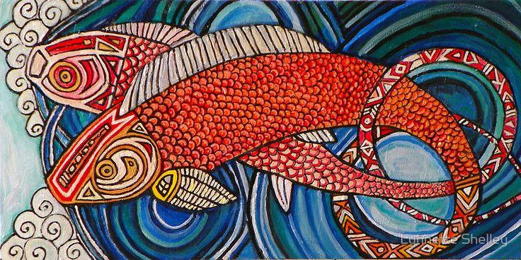 Upstream by Lynnette Shelley  www.lynnetteshelley.com