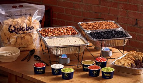Qdoba Mexican Food Catering | Taco, Nacho, Naked Burrito Bar & More