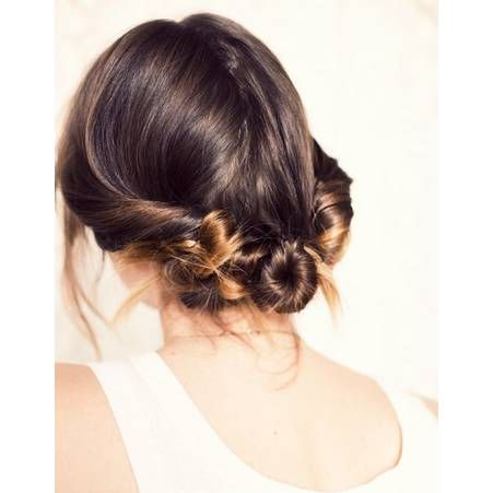 Coiffure cheveux mi longs lisses printemps ete 2015