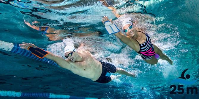 Hoy probamos… ¡palas Easystroke! - #natación #Nabaiji #Decathlon