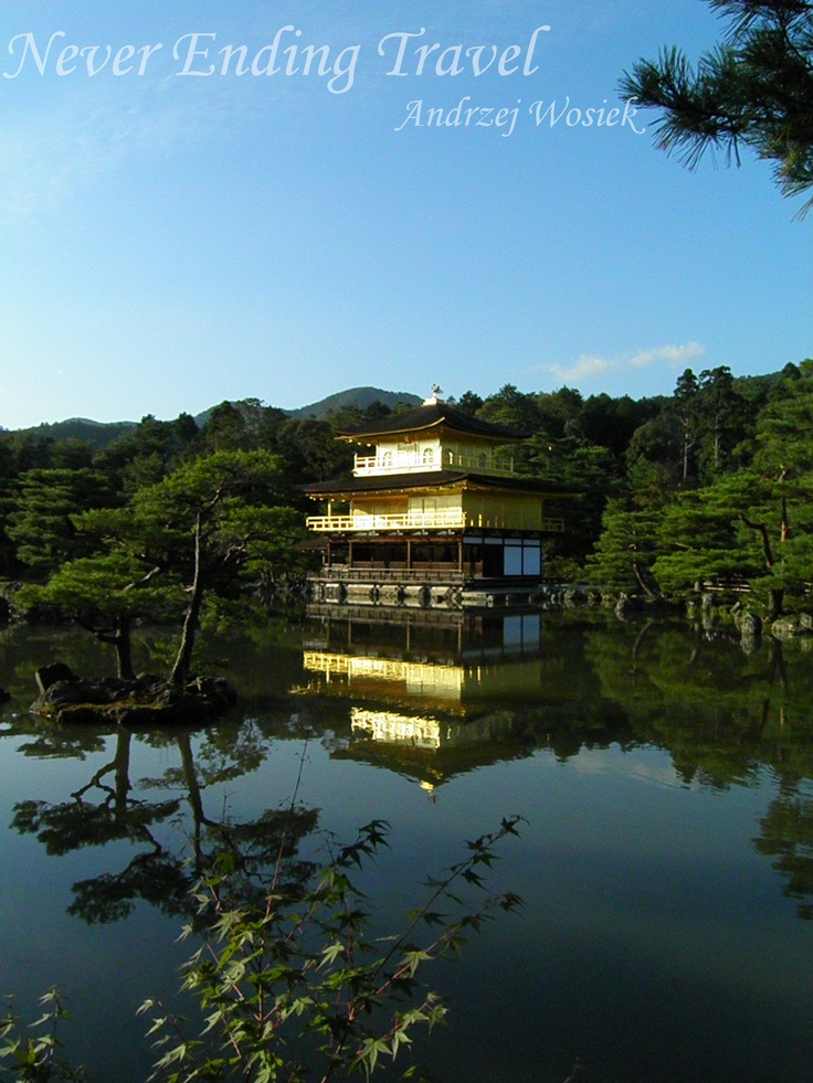Temple of the Golden Pavilion // Kinkaku-ji // 金閣寺 // Kyoto Japan  photo made by Andrzej Wosiek