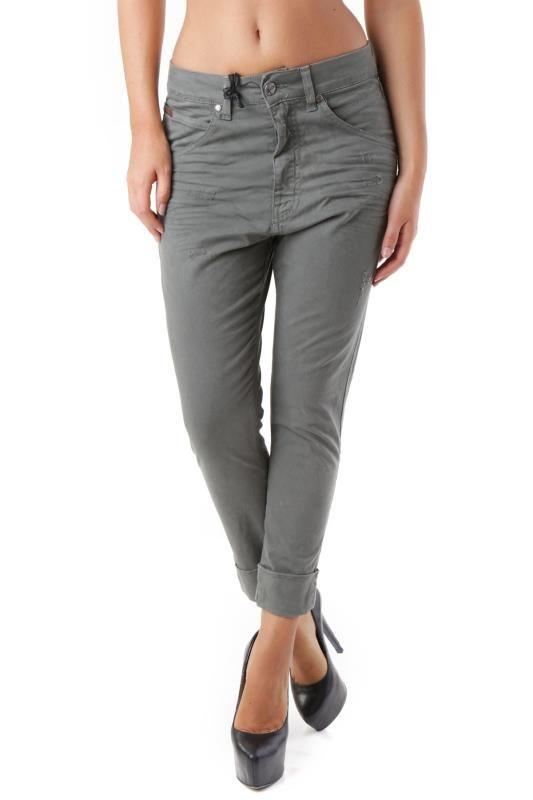 Pantaloni Donna Sexy Woman (VI-J2898) colore Oliva