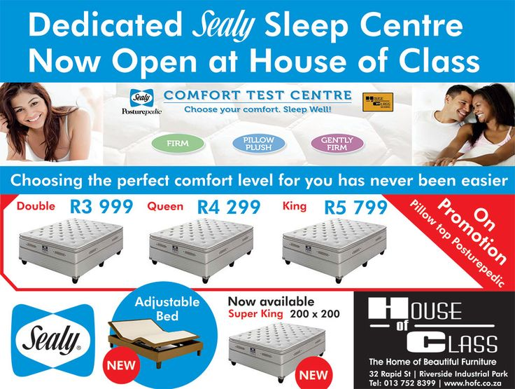 Come see our new Sleep Centre at HOFC - 32 Rapid Street, Mbombela. Open Mondays - Saturdays