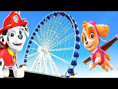 ВЛОГ КОЛЕСО ОБОЗРЕНИЯ Kids euro show#10 чертово колесо Ferris wheel Парк аттракционов Amusement park