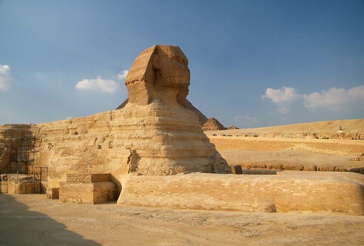 Giza de Sfinx, Egypte 2006