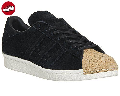 ADIDAS Superstar 80s Cork Damen Sneaker EU 38 / UK 5 schwarz - Adidas schuhe (*Partner-Link)