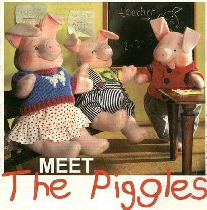 Free Pattern The Piggles Pigs 15 Pages of Patterns Includes Clothes