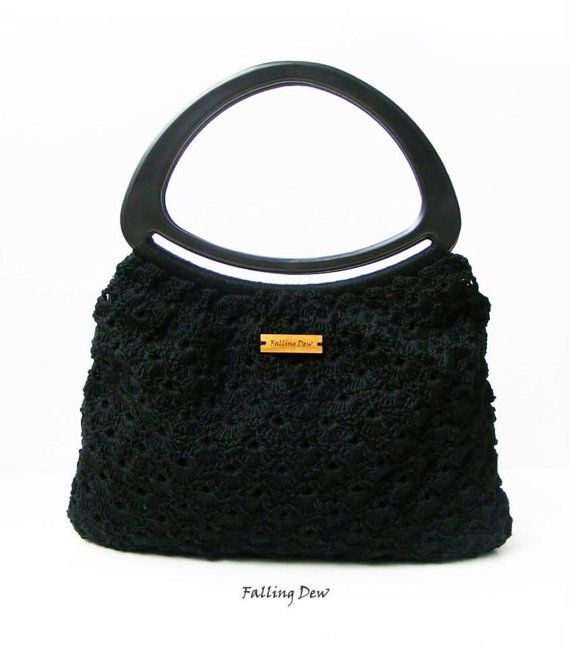 Crochet Handbag/ Crochet Purse/ Small Handbag/ Classic Accessories/ EARRING FREE/ Handmade Bag/ Gift For Her/ Handbags/ Purses/ Fashionable on Etsy, £42.00