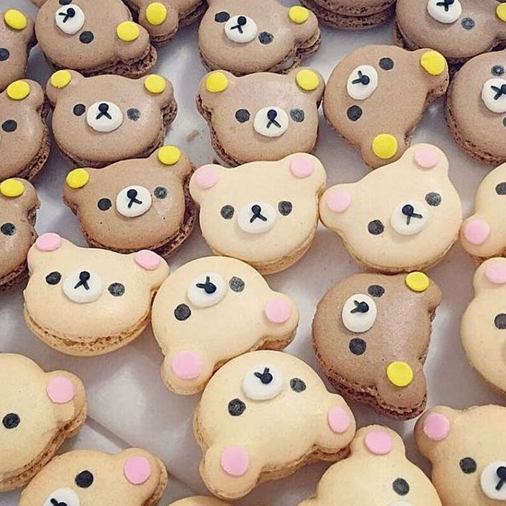 Need a whole box of these to get through Monday! Made by @dokidokicreations #rilakkuma
