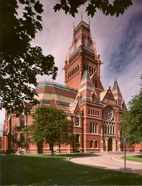 Victorian Foyer University : Harvard university memorial hall high victorian gothic